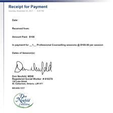 receipt paid print customer payment receipt quicken