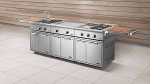 Scenic Gas Grill Cooktop Outdoor Portable Cabinet Kitchen Winsome