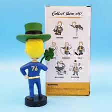 Bobbleheads, Nodders <b>Fallout</b> 76 <b>Vault Boy</b> Luck Bobblehead 5 ...