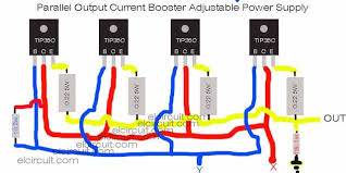 lm723 adjustable power supply over current protection in 2019 transistor current booster wiring diagram