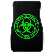 Green Car Floor Mats Zombie Outbreak Response Team Neon And Decorating Ideas