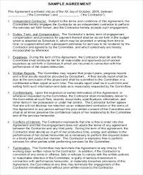 Contract Agreement Template Between Two Parties Should You