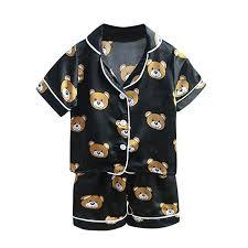 Toddler Baby Clothes Boys Girl Cartoon Bear Print T ... - Amazon.com