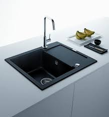black kitchen sinks countertops and faucets 25 ideas adding black black sinks