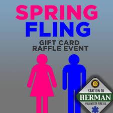 Raffle Event 2019 Spring Fling Raffle Event April 6 2019 Herman Volunteer