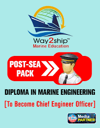 diploma in marine engineering post sea pack
