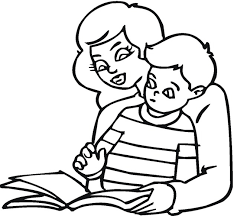 Small Picture Free Reading Coloring Pages