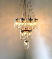 elegant mason jar chandeliers mason jar m7725389