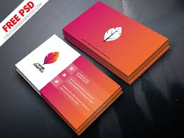 Professional Business Card Psd Free Download By Creative Psd