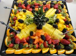 Decorated Fruit Trays Fruit Designs for Parties Loveddd the fruit tray her Mom put 2