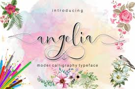 86 best peony ✅ free vector download for commercial use in ai, eps, cdr, svg vector peony free vector we have about (86 files) free vector in ai, eps, cdr, svg vector illustration graphic art design format. Angelia Font By Screen Letter Creative Fabrica In 2020 Free Font Free Fonts Online Creative