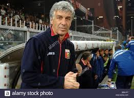 gian piero gasperini genoa trainer, genova 2009, serie a football Stock  Photo - Alamy