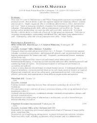Sample Management Assistant Resume – Andaleco