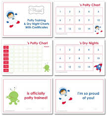 Potty Training Charts The Organised Housewife Shop