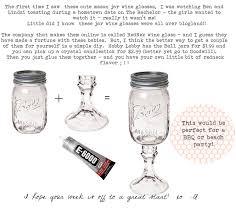 Mason Jar Wine Glass Poem | Pinecone: mason jar wine glasses