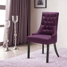 padded dining room chairs. IKayaa Accent Linen Fabric Dining Room Chair Padded Chairs