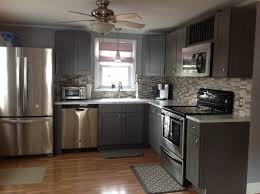 Grey Shaker Kitchen Cabinets modern-kitchen