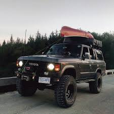 Lifted BJ60 Land Cruiser by a True Outdoorsman from Canada