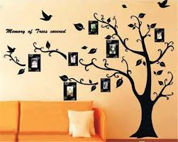 family photo house wall decal mural home house rules family diy removable