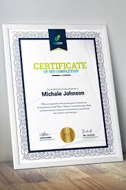 Completion Certificate Template 67452