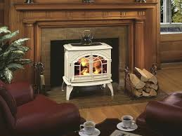 converting wood fireplace to gas converting gas fireplace to wood stove insert logs a burning within