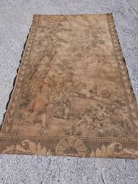 antique french large tapestry wall