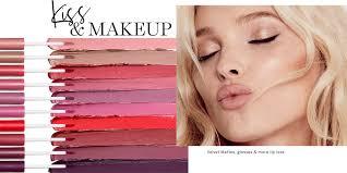 kiss makeup velvet mattes glosses more lip
