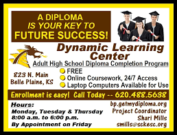 a diploma is your key to future success dynamic learning center  view larger image