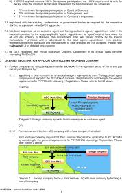 General Guidelines Application For Petronas License And