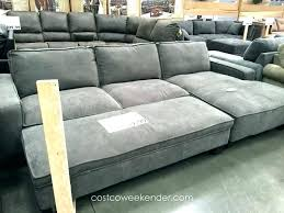 grey leather sectional sofa with chaise paulina italian rooms to go gray deep seated extra couch