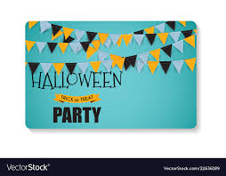 Halloween Business Cards Halloween Party Background Template Business Card