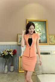 17 best ideas about women s suit jackets women s uniform design slim fashion 2015 summer short sleeve business women suits jackets and skirt for