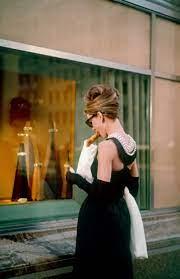 Audrey Hepburn's little black dress ...
