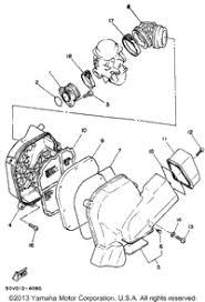 1997 yamaha riva 125 xc125j oem parts babbitts yamaha partshouse 1997 yamaha riva 125 xc125j original equipment manufacturer parts at babbitts yamaha partshouse air filter
