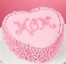 Mothers Day Pink Heart Cake Cake For Mother 2lb Sri Lanka Online