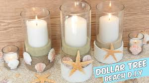 dollar tree beach candle holders centerpiece tutorial you beach wine glass