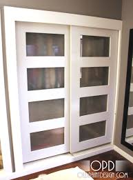 Diy Frosted Glass Door French Closet Doors With Frosted Glass Beadboard Hall Industrial