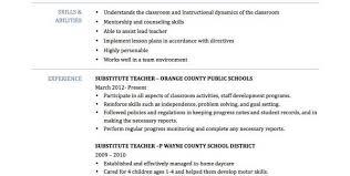 Resume Sample For Teacher Job Costumepartyrun
