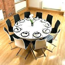 what size round table seats 10 what size round table seats round table seating size what