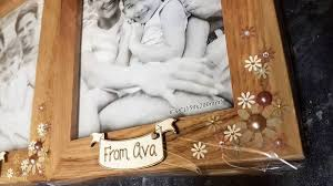picture of wooden photo frame various sizes