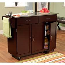 ... Kitchen Cart with Stainless Steel Top. QUICK VIEW