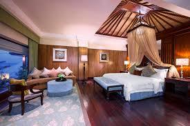 Spa Bedroom Luxury Bedroom St Regis Bali Resort And Spa In Style Home Design