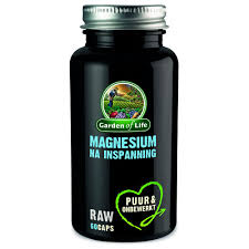 garden of life raw magnesium