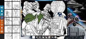 Create A Star Wars Coloring Coloring Pages Hellokidscom