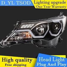 DY_L Car Styling Head Lamp case for Toyota RAV4 Headlights 2013 ...