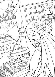 Batman Kleurplaten Kleurplateneu