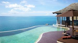 infinity pool beach house. Home Design: European Swimming Pool House Infinity Beach