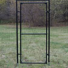 fence gate. 7u0027h access gate with mounting frame fence