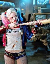 harley quinn is ready to go out for in this classic costume look from
