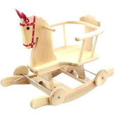 wooden rocking horse for babies child wood chair with regard to plan 49